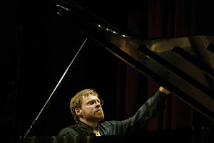Michael Hawley - Michael Hawley at the piano in Fort Worth, TX (2002)