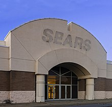 Closed Sears store with label scar over entrance, Hudson Valley Mall, Kingston, NY.jpg