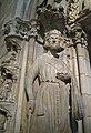 Clovis or Clothar, Doorway, France, ca. 1250 (3221837619).jpg