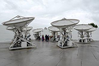 Mullard Radio Astronomy Observatory - Image: Cmglee Cambridge MRAO AMI Small Array