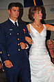 Coast Guardsman escorts National Cherry Queen finalists 120713-G-AW789-049.jpg