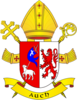 Coat of arms of archdiocese of Auch.png