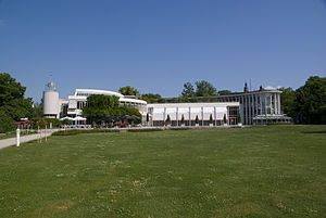 Rose Garden, Coburg - South side of the Congress Centre