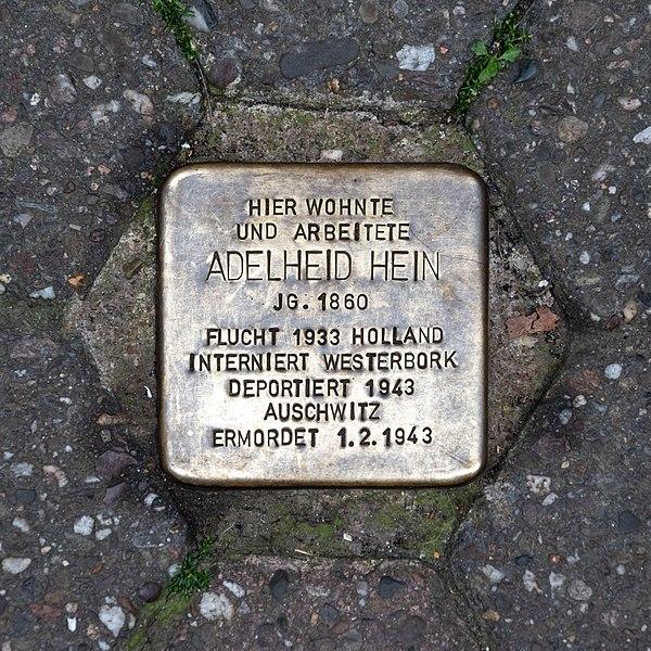 File:Cochem, Bernstraße, Stolperstein -- 2018 -- 0068.jpg