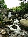 Colden Water above Hebble Hole footbridge - geograph.org.uk - 268658.jpg