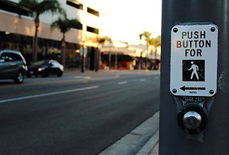 Idempotence - A typical crosswalk button is an example of an idempotent system