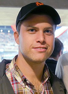 Colin Jost at Citi Field, 2015.jpg
