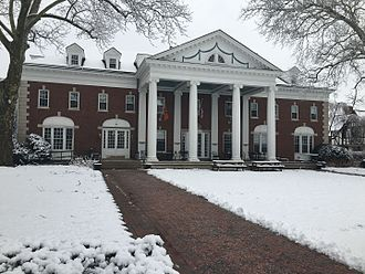 Colonial Club - Colonial club in the winter