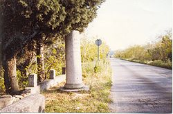 "The so-called ""Column of Hannibal""."