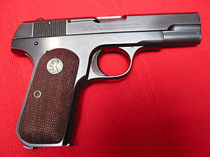 Colt Model 1903 Pocket Hammerless - Colt Model 1903 Pocket Hammerless.