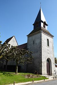 Coltainville église Saint-Lubin Eure-et-Loir (France).JPG
