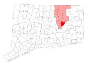 Columbia, Connecticut - Image: Columbia CT lg