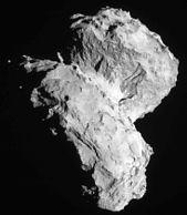 Comet 67P on 22 August 2014 NavCam
