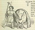 Comic History of Rome p 073 Roman Bull and Priest of the Period.jpg
