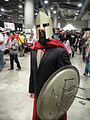 Comikaze Expo 2011 - King Leonidas from 300 is all business.jpg
