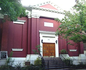Little Germany, Manhattan - The former St. Mark's Evangelical Lutheran Church has been a synagogue since 1940