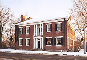 Cambridge City, Indiana - The Conklin-Montgomery House