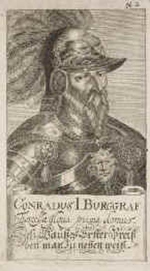 Conrad I, Burgrave of Nuremberg - Conrad I, Burgrave of Nuremberg