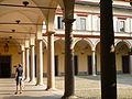 Conservatorio Giuseppe Verdi (Milan), cortile, ex chiostro di Santa Maria della Passione 02.JPG