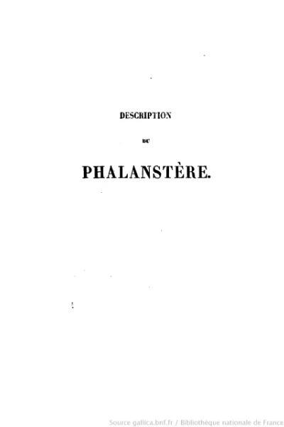File:Considérant - Description du phalanstère et considérations sociales sur l'architectonique.djvu