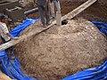 Construction de digesteurs pour une ferme, école et mosquée à Dayet Ifrah, Maroc (13244827624).jpg
