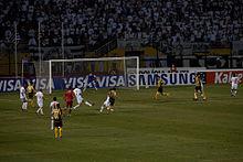 Final da Copa Libertadores da América de 2011 entre Santos e Peñarol no  Estádio do Pacaembu 3f7a69f7918aa
