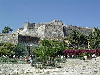 New Fortress - Image: Corfou ville nouvelle citadelle