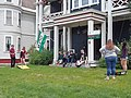 Cornhole players Main Street downtown St. Johnsbury VT June 2019.jpg