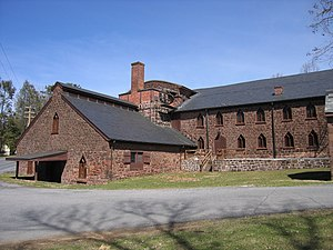 Cornwall Iron Furnace - Main building at Cornwall Iron Furnace
