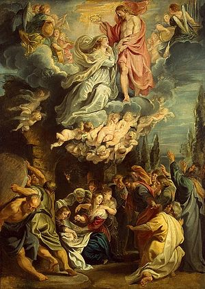 Queen of Heaven - Rubens, 1609