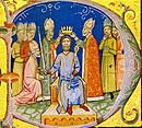 Coronation of Andrew I (Chronicon Pictum 060).jpg