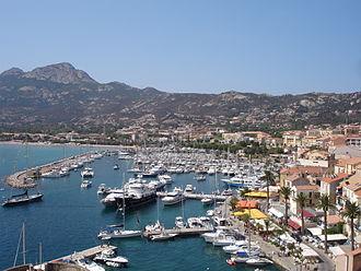 Calvi, Haute-Corse - Port of Calvi