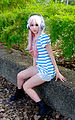 Cosplayer of Super Sonico at CWT42 20160213a.jpg