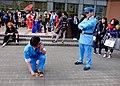 Cosplayers of Kankichi Ryotsu and Daijiro Ohara, Kochikame at CWT41 20151212.jpg