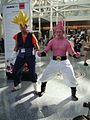 Cosplayers of Son Goku and Majin Boo, Dragon Ball Z at Anime Expo 20100702.jpg