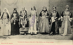 Urfa - Costumes of the wealthy women of Urfa in the early 20th century.