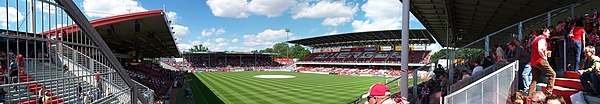 Cottbus Stadion der Freundschaft Panorama