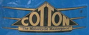 Cotton (motorcycle) - Image: Cotton tank badge logo cropped