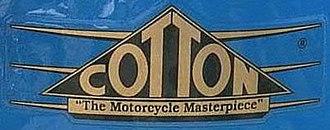 Cotton (motorcycle) - Image: Cotton tank badge logo cropped