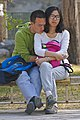 Couple on bench in Beihai Park, Beijing.jpg