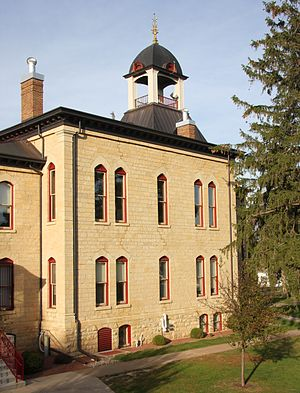 Vernon County, Wisconsin - Image: Courthouse Vernon County WI