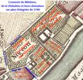 Couvents des Minimes et de la Visitation de Chaillot sur carte Delagrive de 1740.png