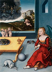 CRANACH, Lucas the Elder Melancholia 1532