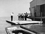 Crew of Langley houseboat on barge.jpg