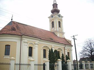 Stara Pazova - Image: Crkva Svetog proroka Ilije u Staroj Pazovi