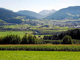 Puster Valley - Puster Valley at Bruneck