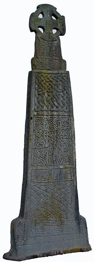 Carew, Pembrokeshire - Image: Croes Maredudd Ab Edwin 2