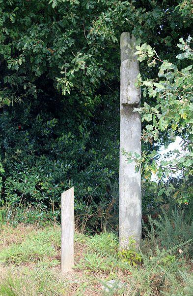 Croix de la Brassée (Guillac), tranche