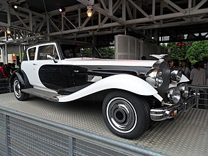 102 Dalmatians - A customized Panther De Ville driven by Cruella de Vil in the film