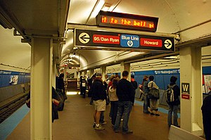 Washington station (CTA Red Line) - Wikipedia